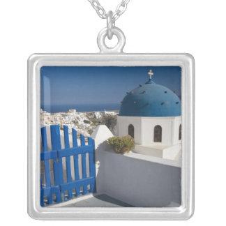 Collier La Grèce et l'île grecque de Santorini de
