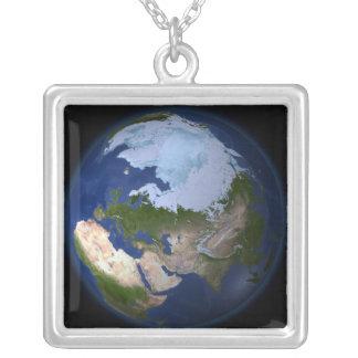 Collier La pleine terre montrant la région arctique