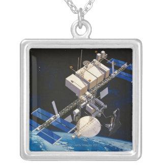 Collier La terre orbitale 10 de station spatiale