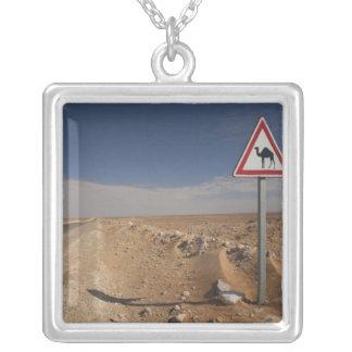 Collier La Tunisie, région de Ksour, Ksar Ghilane, oléoduc