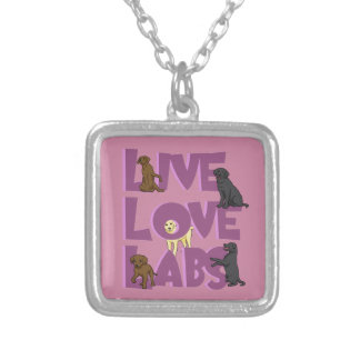 Collier Laboratoires vivants d'amour !