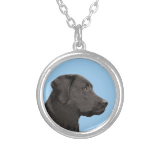 Collier Labrador retriever (noir)