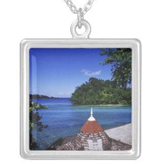 Collier Lagune bleue, port Antonio, Jamaïque