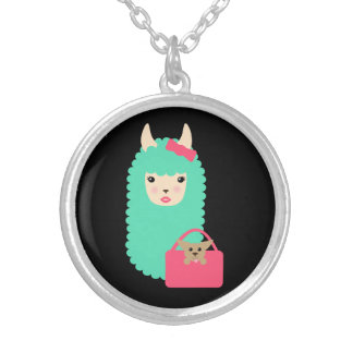 Collier Lama Girly Emoji