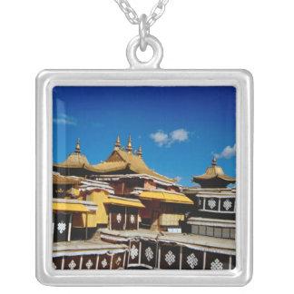 Collier L'Asie, Thibet, Lhasa, rouge du Palais du Potala