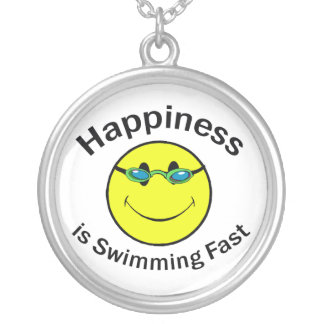 Collier Le bonheur nage rapidement