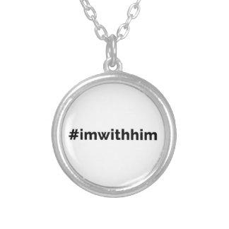Collier Le Président Trump Support de #imwithhim