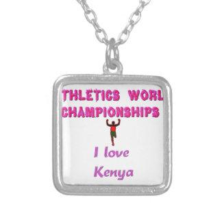 Collier Les champions sportifs du monde du Kenya