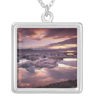 Collier L'Islande, lagune de Jokulsarlon, paysage