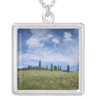 Collier L'Italie, Toscane, Val D'Orcia, paysage avec