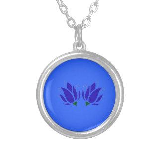 Collier Lotus bleus