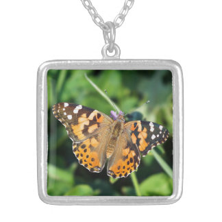 Collier Madame peinte Butterfly Necklace