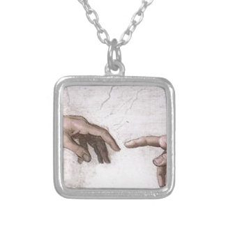 Collier Mains de Dieu et d'Adam, la création - Michaël