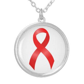 Collier Maladie cardiaque de SIDA et d'HIV | et course -