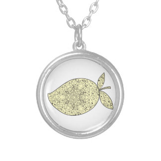 Collier Mandala juteux de fruit de mangue