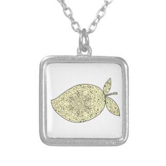 Collier Mandala juteux de fruit de mangue