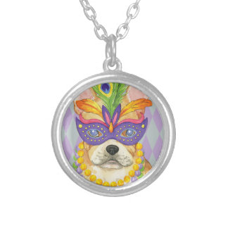 Collier Mardi gras Frenchie