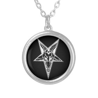 Collier Mode de Goth - conceptions occultes - Baphomet