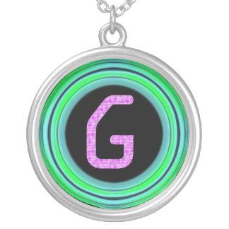 """Collier Monogramme """"G """""""
