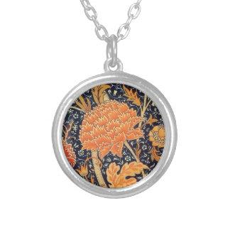 Collier Motif floral de Nouveau d'art de William Morris