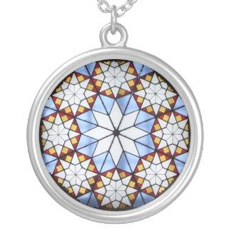 Collier Motif géométrique