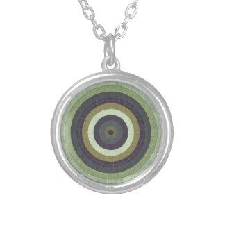 Collier Motif radial illustré