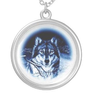 Collier Neckalace de salut de loup
