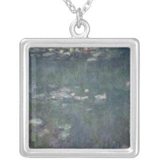 Collier Nénuphars de Claude Monet | : Réflexions vertes