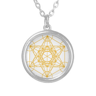 Collier Or de cube en Metatron