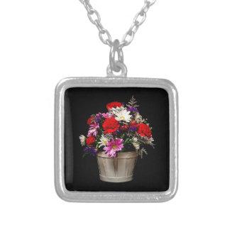 Collier Panier des fleurs