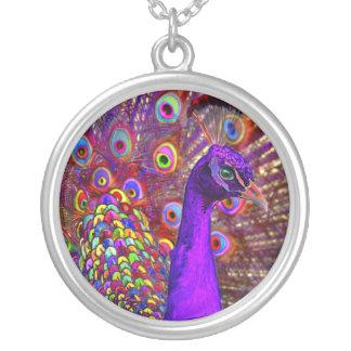 Collier Paon de million de couleurs