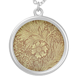 Collier Papier peint floral de cru d'illustration de