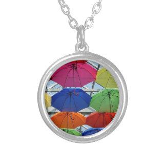Collier Parapluie coloré