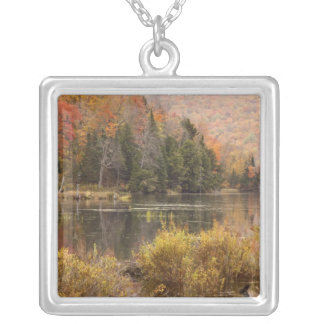 Collier Paysage d'automne avec le lac, Vermont, Etats-Unis