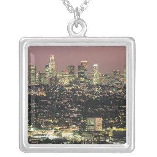Collier Paysage urbain de Los Angeles la nuit