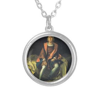 Collier Peinture de Christophe Colomb par Antonio De