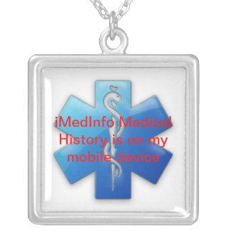 collier pendant carré d'iMedInfo