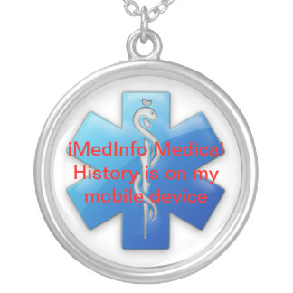 collier pendant rond d'iMedInfo