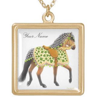 Collier personnalisable de cheval de défilé de