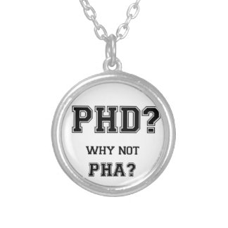 Collier PhD ? Pourquoi pas PhA ? Cadeau d'obtention du