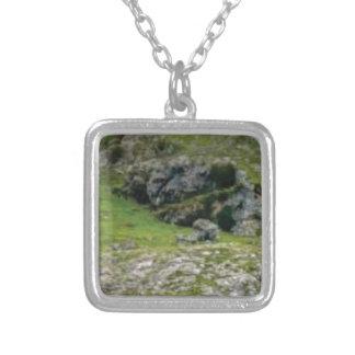 Collier pierre verte de merveille