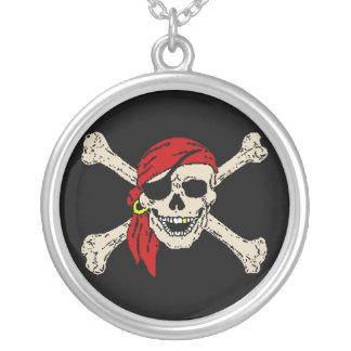 Collier Pirate, jolly roger