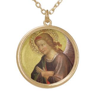 Collier Plaqué Or Ange de la Renaissance par le maître du Bambino