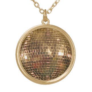 Collier Plaqué Or Boule reflétée 2 de disco