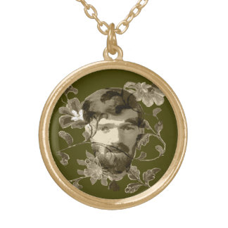 Collier Plaqué Or D H Lawrence