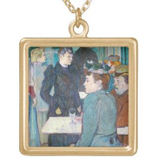 Collier Plaqué Or Henri De Toulouse-Lautrec | Moulin de la Galette