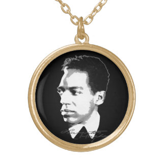 Collier Plaqué Or Langston Hughes