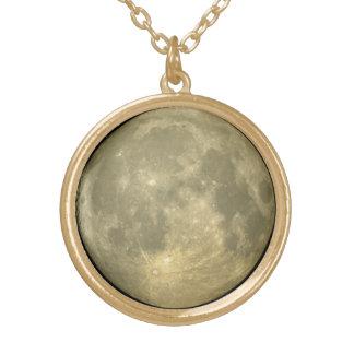 Collier Plaqué Or Pleine lune