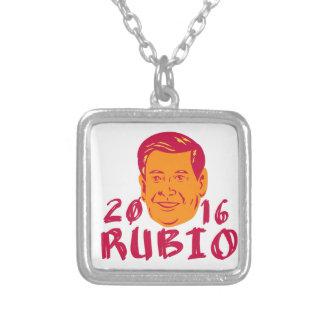 Collier Président 2016 de Marco Rubio rétro