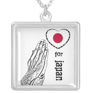 Collier Priez pour le tsunami du Japon